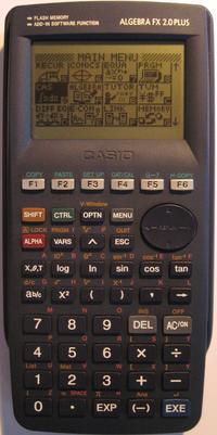calculatrice casio texas instrument ti 82
