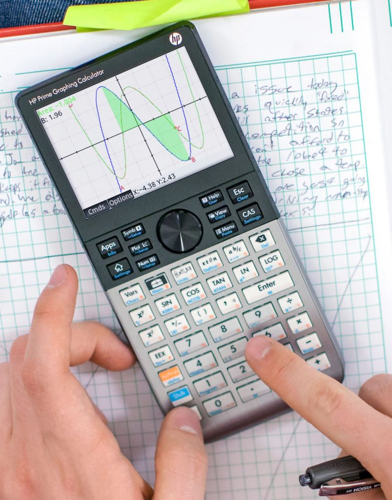 calculatrice graphique examen