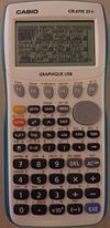 calculatrice scientifique casio 25